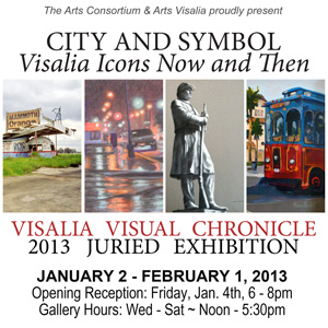 City And Symbol Visalia Icons Now And Then