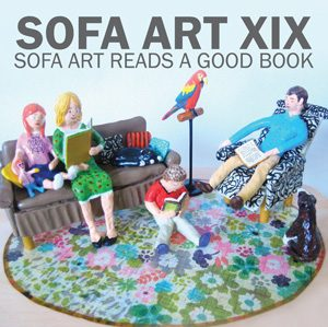 Sofa Art XIX Sofa Art Reads A Good Book