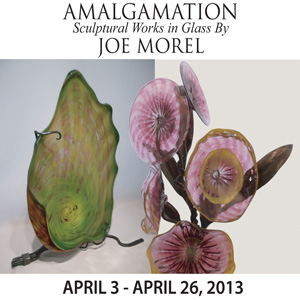 Amalgamation Sculptural Works In Glass By Joe Morel
