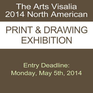 The Arts Visalia 2014 North American Print & Drawing Exhibition
