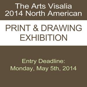 The Arts Visalia 2014 North American Print & Drawing Exhibition
