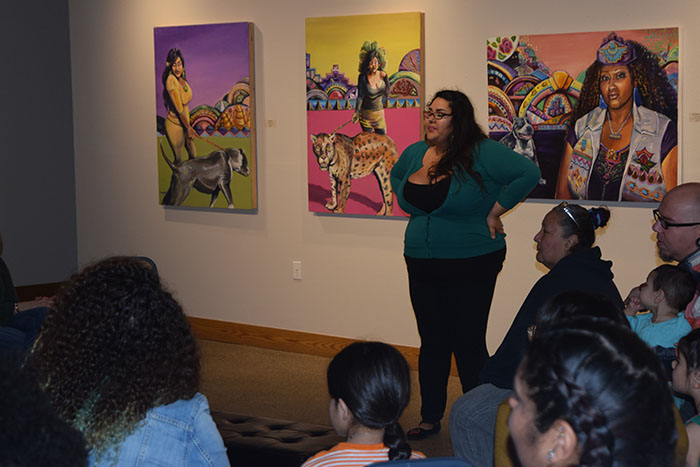 Crystal Galindo's Artist Talk