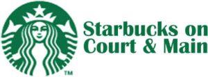 Starbucks on Court And Main Logo