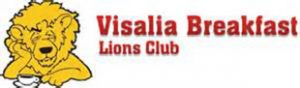 Visalia Breakfast Lions Club Logo