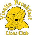 Visalia Breakfast Lions Logo
