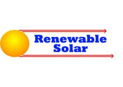 Renewable Solar Energy Logo