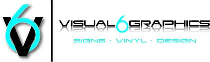 Visual 6 Graphics Logo
