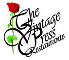 The Vintage press Restaurante Logo