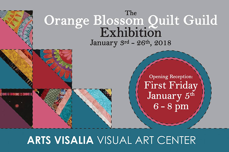 Orange Blossom Quilt Guild - January 2018